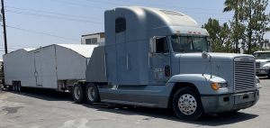 Freightliner and Trailer